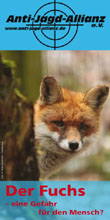 Flyer Fuchsbejagung
